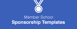 Member School Sponsorship Templates