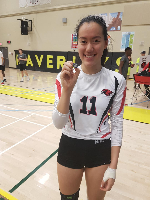 Sportsmanship Award Thursday - Michelle Deng